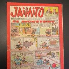 Tebeos: JAIMITO (1945, VALENCIANA) 409 · 10-VIII-1957 · JAIMITO. Lote 268995804