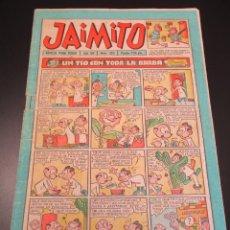 Tebeos: JAIMITO (1945, VALENCIANA) 383 · 9-II-1957 · JAIMITO. Lote 268998249