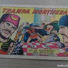 Tebeos: EL GUERRERO DEL ANTIFAZ Nº 542 EDITORIAL VALENCIANA ORIGINAL. Lote 269128263