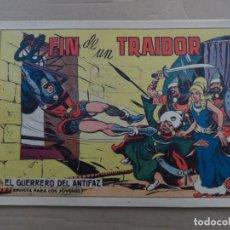 Tebeos: EL GUERRERO DEL ANTIFAZ Nº 498 EDITORIAL VALENCIANA ORIGINAL. Lote 269147953