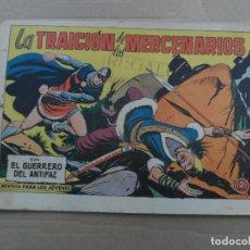 Tebeos: EL GUERRERO DEL ANTIFAZ Nº 493 EDITORIAL VALENCIANA ORIGINAL. Lote 269148028