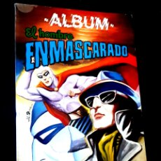 Tebeos: MUY BUEN ESTADO EL HOMBRE ENMASCARADO 5 ALBUM VALENCIANA. Lote 269226533