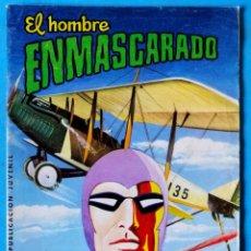 Tebeos: EL HOMBRE ENMASCARADO Nº 16 - COLOSOS DEL COMIC ''LOS PIRATAS DEL AIRE'' VALENCIANA 1979. Lote 269229358
