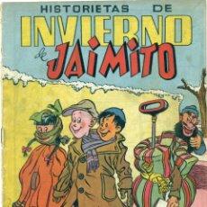 Tebeos: EXTRA HISTORIETAS DE INVIERNO DE JAIMITO ORIGINAL PROCEDE DE ENCUADERNACION. Lote 269270193