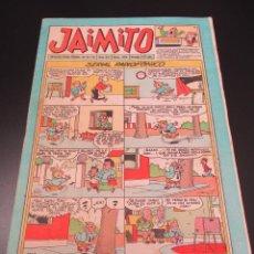 Tebeos: JAIMITO (1945, VALENCIANA) 393 · 20-IV-1957 · JAIMITO. Lote 269273408