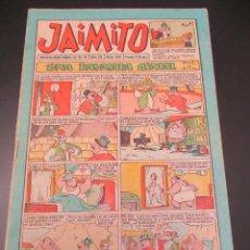 Tebeos: JAIMITO (1945, VALENCIANA) 395 · 4-V-1957 · JAIMITO. Lote 269274043