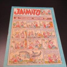 Tebeos: JAIMITO (1945, VALENCIANA) 396 · 11-V-1957 · JAIMITO. Lote 269274413