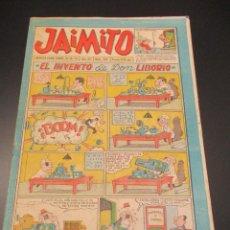 Tebeos: JAIMITO (1945, VALENCIANA) 397 · 18-V-1957 · JAIMITO. Lote 269275893