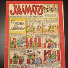 Tebeos: JAIMITO (1945, VALENCIANA) 398 · 25-V-1957 · JAIMITO. Lote 269276168