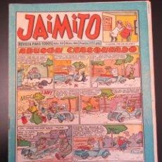 Tebeos: JAIMITO (1945, VALENCIANA) 404 · 6-VII-1957 · JAIMITO. Lote 269276563
