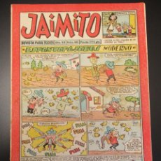 Tebeos: JAIMITO (1945, VALENCIANA) 405 · 13-VII-1957 · JAIMITO. Lote 269276943