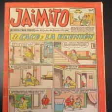 Tebeos: JAIMITO (1945, VALENCIANA) 414 · 14-IX-1957 · JAIMITO. Lote 269279263
