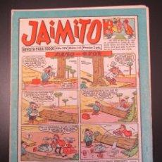 Tebeos: JAIMITO (1945, VALENCIANA) 501 · 16-V-1959 · JAIMITO. Lote 269279708