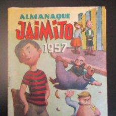 Tebeos: JAIMITO (1945, VALENCIANA) EXTRA 25 · XII-1956 · ALMANAQUE 1957. Lote 269280958