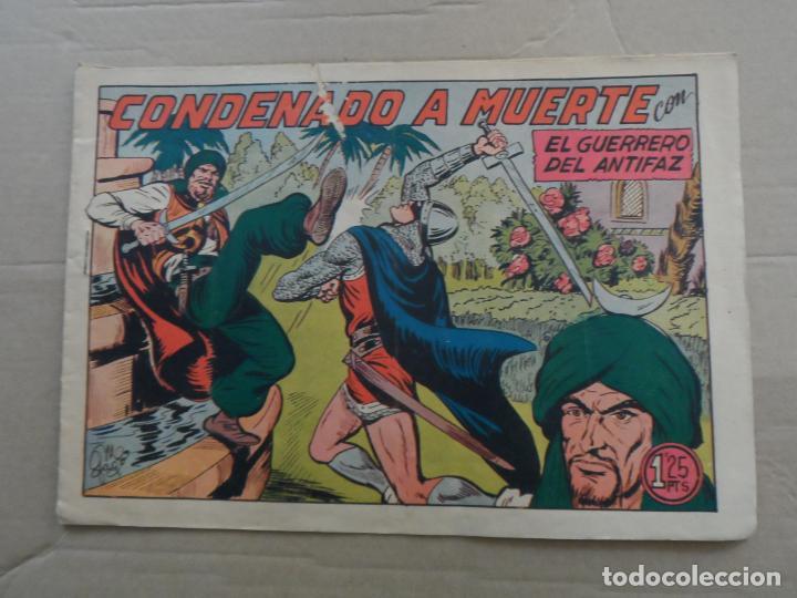 EL GUERRERO DEL ANTIFAZ Nº 222 EDITORIAL VALENCIANA ORIGINAL (Tebeos y Comics - Valenciana - Guerrero del Antifaz)