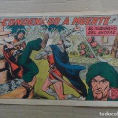Tebeos: EL GUERRERO DEL ANTIFAZ Nº 222 EDITORIAL VALENCIANA ORIGINAL. Lote 269301073