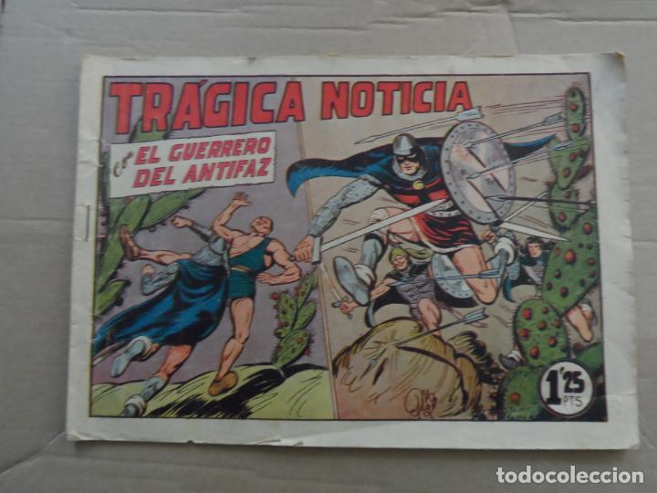 EL GUERRERO DEL ANTIFAZ Nº 218 EDITORIAL VALENCIANA ORIGINAL (Tebeos y Comics - Valenciana - Guerrero del Antifaz)