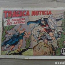 Tebeos: EL GUERRERO DEL ANTIFAZ Nº 218 EDITORIAL VALENCIANA ORIGINAL. Lote 269301453
