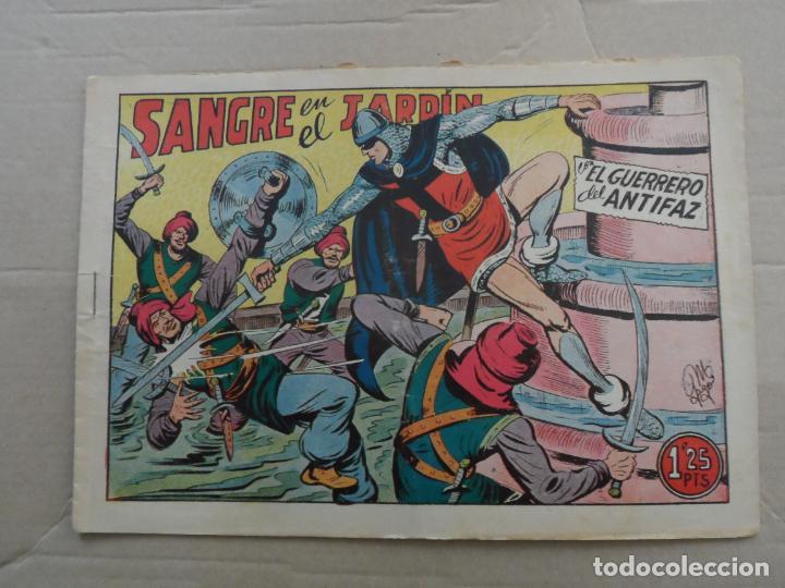 EL GUERRERO DEL ANTIFAZ Nº 198 EDITORIAL VALENCIANA ORIGINAL (Tebeos y Comics - Valenciana - Guerrero del Antifaz)