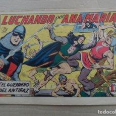 Tebeos: EL GUERRERO DEL ANTIFAZ Nº 194 EDITORIAL VALENCIANA ORIGINAL. Lote 269302678