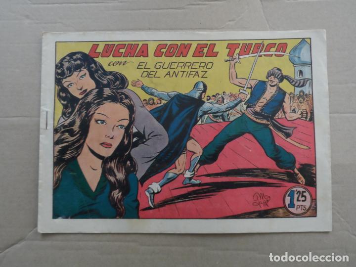 EL GUERRERO DEL ANTIFAZ Nº 139 EDITORIAL VALENCIANA ORIGINAL (Tebeos y Comics - Valenciana - Guerrero del Antifaz)