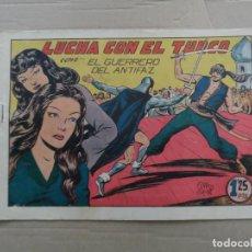 Tebeos: EL GUERRERO DEL ANTIFAZ Nº 139 EDITORIAL VALENCIANA ORIGINAL. Lote 269303883