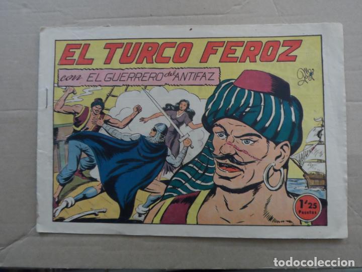 EL GUERRERO DEL ANTIFAZ Nº 135 EDITORIAL VALENCIANA ORIGINAL (Tebeos y Comics - Valenciana - Guerrero del Antifaz)