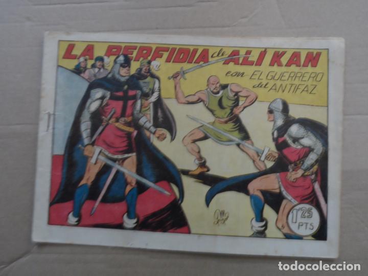 EL GUERRERO DEL ANTIFAZ Nº 127 EDITORIAL VALENCIANA ORIGINAL (Tebeos y Comics - Valenciana - Guerrero del Antifaz)