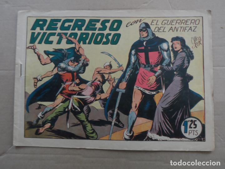 EL GUERRERO DEL ANTIFAZ Nº 119 EDITORIAL VALENCIANA ORIGINAL (Tebeos y Comics - Valenciana - Guerrero del Antifaz)