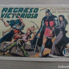 Tebeos: EL GUERRERO DEL ANTIFAZ Nº 119 EDITORIAL VALENCIANA ORIGINAL. Lote 269309928