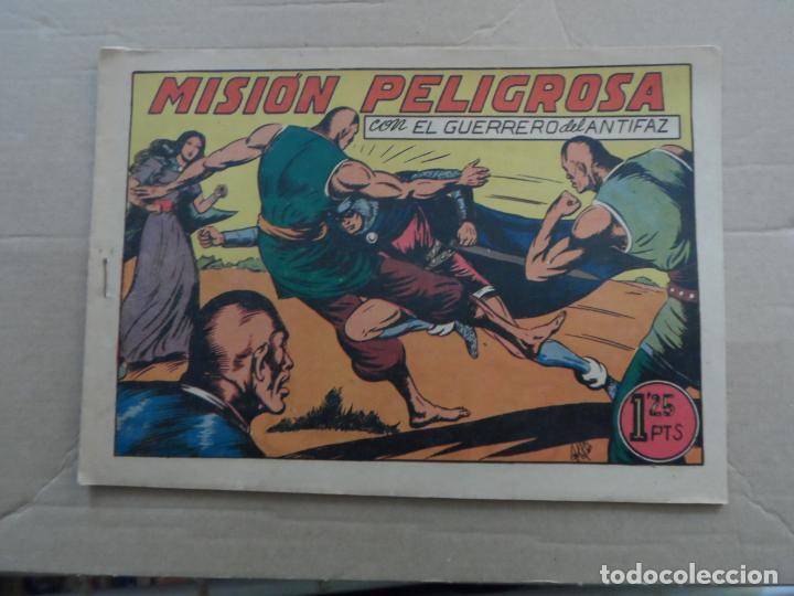 EL GUERRERO DEL ANTIFAZ Nº 107 EDITORIAL VALENCIANA ORIGINAL (Tebeos y Comics - Valenciana - Guerrero del Antifaz)