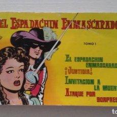 Tebeos: EL ESPADACHIN ENMASCARADO. TOMO 1. Lote 269343058