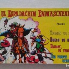 Tebeos: EL ESPADACHIN ENMASCARADO. TOMO 2. Lote 269343253