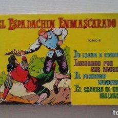 Tebeos: EL ESPADACHIN ENMASCARADO. TOMO 4. Lote 269343623