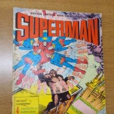 Tebeos: SUPERMAN, EDICIÓN LIMITADA PARA COLECCIONISTAS, ( VALENCIANA, 1976) GRAN FORMATO: 25X34 CMS. Lote 269387838