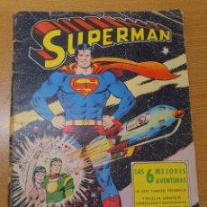 Tebeos: SUPERMAN, EL ORIGEN DE SUPERMAN, VALENCIANA, GRAN FORMATO. Lote 269388548