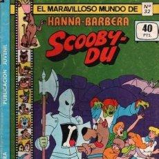 Tebeos: EL MARAVILLOSO MUNDO DE HANNA BARBERA-SCOOBY DÚ- Nº 32 -ALEX TOTH-1979-RARO-BELLO-LEA-5032. Lote 269389263