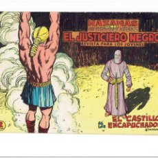 Tebeos: ARCHIVO * EL JUSTICIERO NEGRO * Nº 13 ORIGINAL * EDITORIAL VALENCIANA 1965 *. Lote 269476468