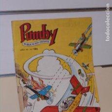 Tebeos: PUMBY AÑO VII Nº 186 - VALENCIANA. Lote 269710048