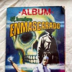 Tebeos: ALBUM EL HOMBRE ENMASCARADO Nº 4 (ED. VALENCIANA) LOMO VERDE. Lote 270131278