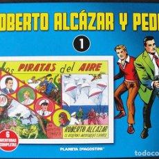 Tebeos: ROBERTO ALCAZAR Y PEDRIN VOLUMEN 1 - PLANETA AGOSTINI, 2010 - EDITORIAL VALENCIANA -. Lote 270207598