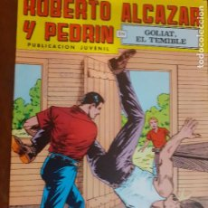 Tebeos: ROBERTO ALCAZAR Y PEDRÍN Nº180. GOLIAT EL TEMIBLE.VALENCIANA 1979. BUEN ESTADO. Lote 270366758