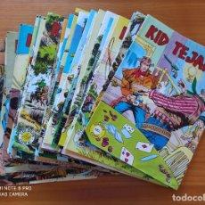 Tebeos: KID TEJANO COMPLETA - 34 NUMEROS - COLOSOS DEL COMIC - VALENCIANA (N). Lote 270533973