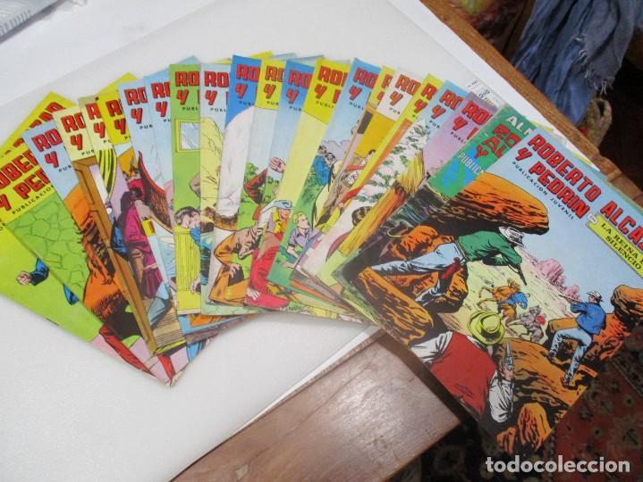 ROBERTO ALCAZAR Y PEDRÍN 2ª EPOCA (23 Nº SUELTOS ) W7618 (Tebeos y Comics - Valenciana - Roberto Alcázar y Pedrín)