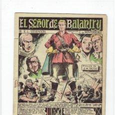 Giornalini: ARCHIVO * ADAPTACION GRAFICA PARA LA JUVENTUD (1960, VALENCIANA) 5 : EL SEÑOR DE BALANTRY *. Lote 270961703