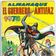 Livros de Banda Desenhada: VALENCIANA. EL GUERRERO DEL ANTIFAZ. ALMANAQUE 1975.. Lote 271178783