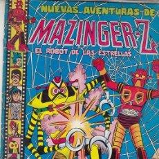 Tebeos: MAZINGER Z - NUEVAS AVENTURAS Nº 6 - EL ROBOT DE LAS ESTRELLAS - VALENCIANA #. Lote 271586403