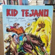 Tebeos: KID TEJANO - Nº 12 - COLOSOS DEL COMIC - ED. VALENCIANA 1980. Lote 271953303