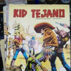 Tebeos: KID TEJANO - Nº 22 - COLOSOS DEL COMIC - ED. VALENCIANA 1980. Lote 271953488