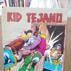 Tebeos: KID TEJANO - Nº 29 - COLOSOS DEL COMIC - ED. VALENCIANA 1980. Lote 271953663
